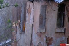 pożar domu w Kotliskach 11