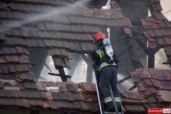 pożar domu w Kotliskach 12