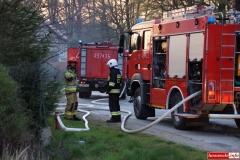 pożar domu w Kotliskach 15