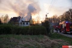 pożar domu w Kotliskach 16