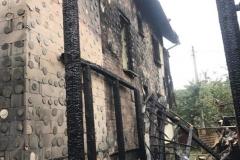 Pożar domu w Wieży  (1)