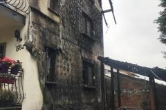 Pożar domu w Wieży  (2)