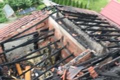 Pożar domu w Wieży  (3)