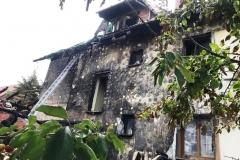 Pożar domu w Wieży  (4)