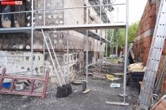 Wieża Gryfów Śląski pożar domu  (1)
