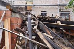 Wieża Gryfów Śląski pożar domu  (13)
