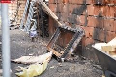 Wieża Gryfów Śląski pożar domu  (7)
