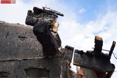 Wieża Gryfów Śląski pożar domu  (9)