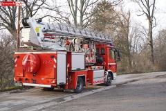 Pożar komina w Radomiłowicach 2