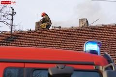 Pożar komina w Radomiłowicach 4