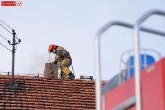 Pożar komina w Radomiłowicach 5