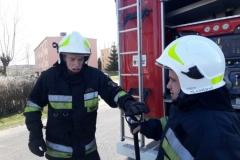 Pożar nieużytków w Lubomierzu / fot.: OSP Lubomierz/