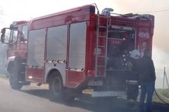Pożar nieużytków w Lubomierzu /fot. nadesłane przez czytelnika /