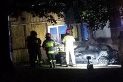 pożar samochodu 1