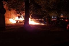 pożar samochodu 3