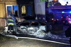 pożar samochodu 4