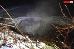 Pożar samochodu w Wojciechowie 4