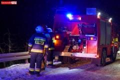 Pożar samochodu w Wojciechowie 5