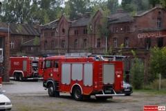 pożar w Gryfexie 3