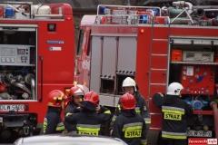 pożar w Gryfexie 5
