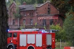 pożar w Gryfexie 6