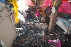 Pożar rodzinnego domu dziecka w Rębiszowie 03