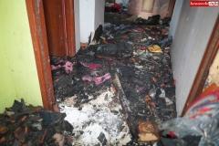 Pożar rodzinnego domu dziecka w Rębiszowie 07