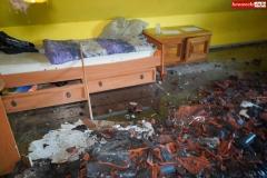 Pożar rodzinnego domu dziecka w Rębiszowie 09