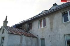Pożar rodzinnego domu dziecka w Rębiszowie 13