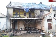 Pożar rodzinnego domu dziecka w Rębiszowie 14
