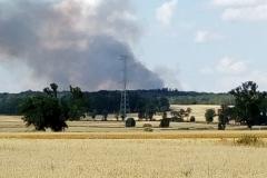 Pożar w Ustroniu 2019 4