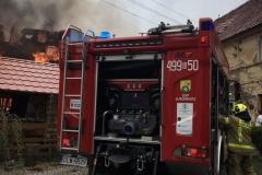 Pożar stodoły w Wojciechowie 03