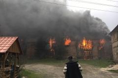 Pożar stodoły w Wojciechowie 04