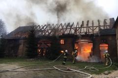 Pożar stodoły w Wojciechowie 05