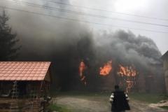 Pożar stodoły w Wojciechowie 06