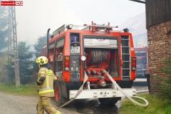 Pożar stodoły w Wojciechowie 07