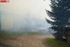 Pożar stodoły w Wojciechowie 09