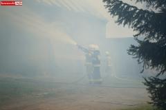 Pożar stodoły w Wojciechowie 10