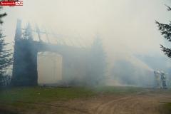 Pożar stodoły w Wojciechowie 11