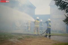 Pożar stodoły w Wojciechowie 12