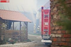 Pożar stodoły w Wojciechowie 13
