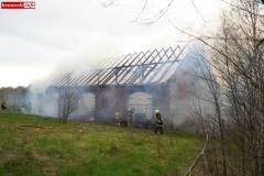 Pożar stodoły w Wojciechowie 16