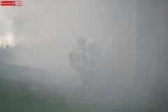 Pożar stodoły w Wojciechowie 18