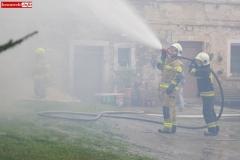 Pożar stodoły w Wojciechowie 20
