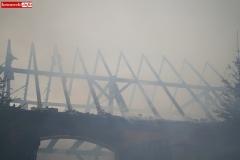 Pożar stodoły w Wojciechowie 21