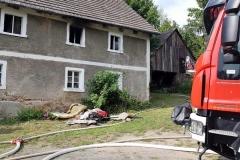 Pożar w Wojciechowie 1