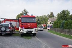 Pożar w Wojciechowie 2