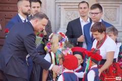 Prezydent Andrzej Duda w Lwówku Śląskim 32