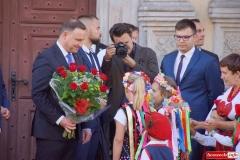 Prezydent Andrzej Duda w Lwówku Śląskim 33