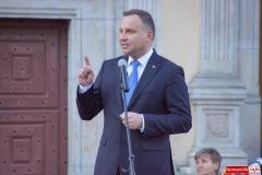 Prezydent Andrzej Duda w Lwówku Śląskim 36